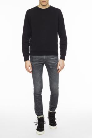 Sweatshirt with elbow patches od Maison Margiela