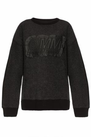 Patched sweatshirt od MM6 Maison Margiela