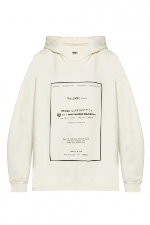 Hooded sweatshirt od MM6 Maison Margiela