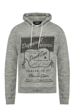 Branded hooded sweatshirt od Dsquared2