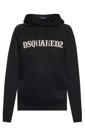 Sweatshirt with an application and a logo od Dsquared2