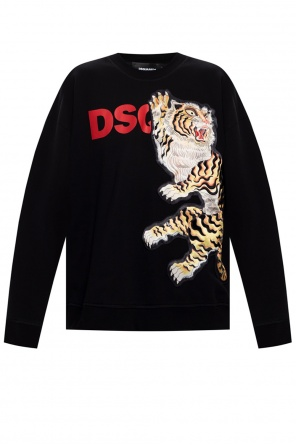 Patterned sweatshirt od Dsquared2