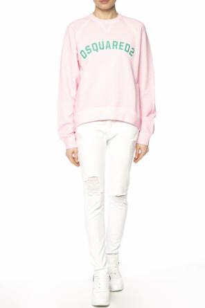 Logo-printed sweatshirt od Dsquared2