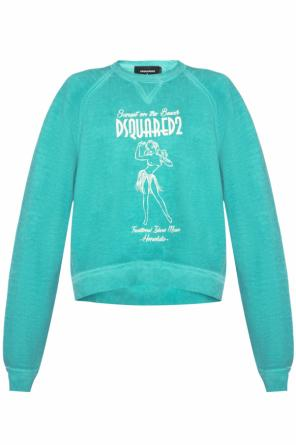 Printed sweatshirt od Dsquared2