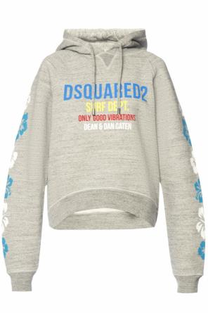 Sweatshirt with print and logo od Dsquared2