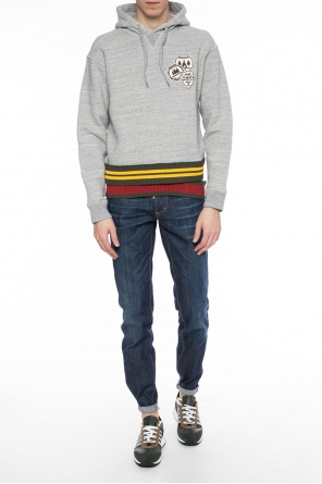 Patched sweatshirt od Dsquared2