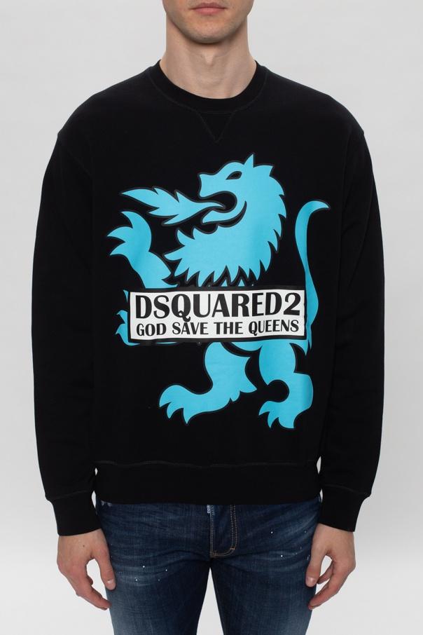 Dsquared2 Bluza z logo Z2y0Fl1W