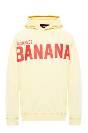 Printed hoodie od Dsquared2