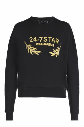 Appliqued sweatshirt od Dsquared2