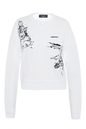 Embroidered sweatshirt od Dsquared2