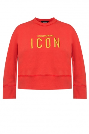 Logo-embroidered sweatshirt od Dsquared2