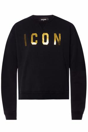 Printed lettering sweatshirt od Dsquared2