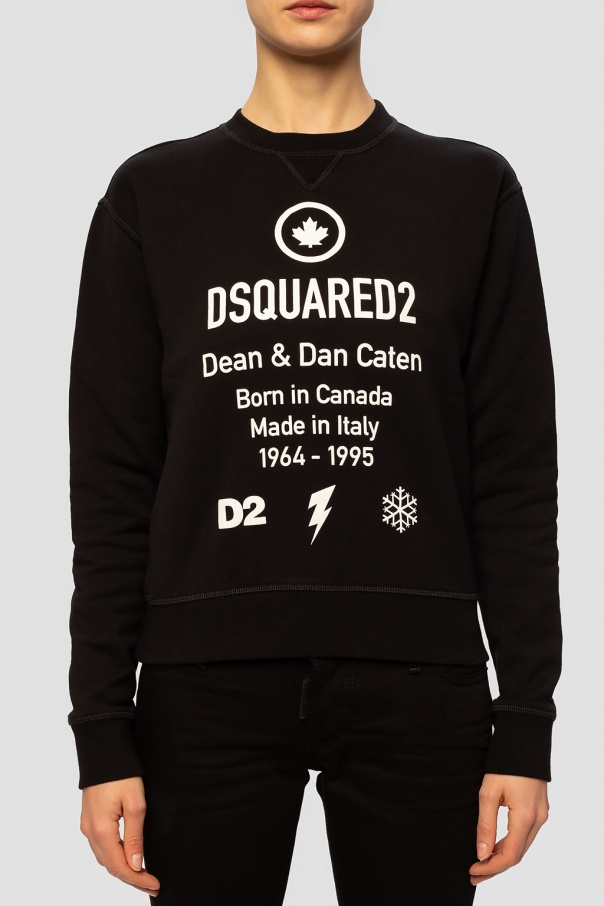 Logo sweatshirt od Dsquared2