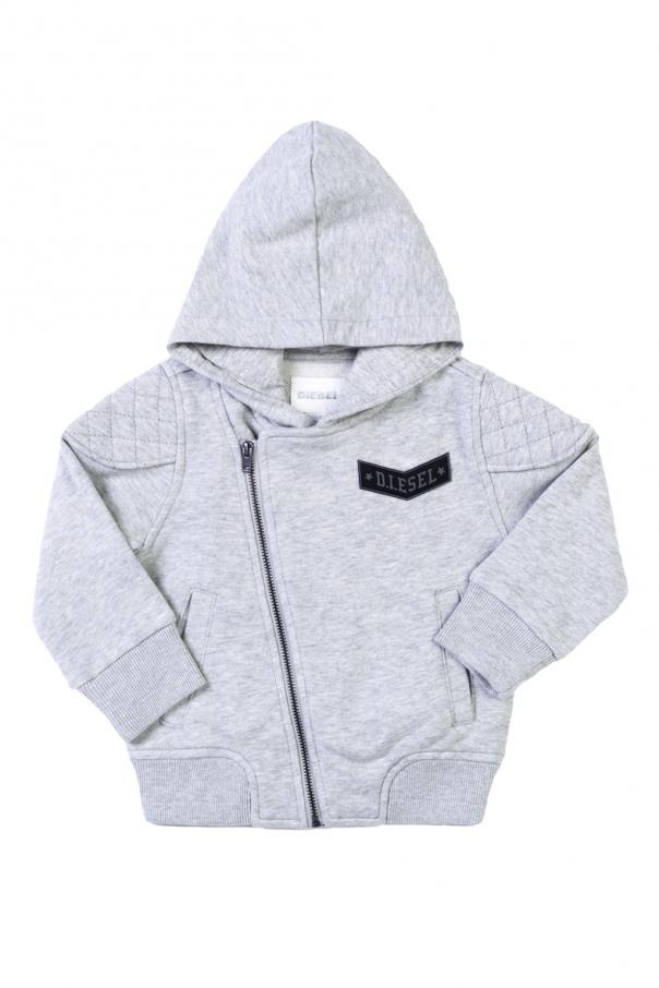 Diesel Kids Patched sweatshirt