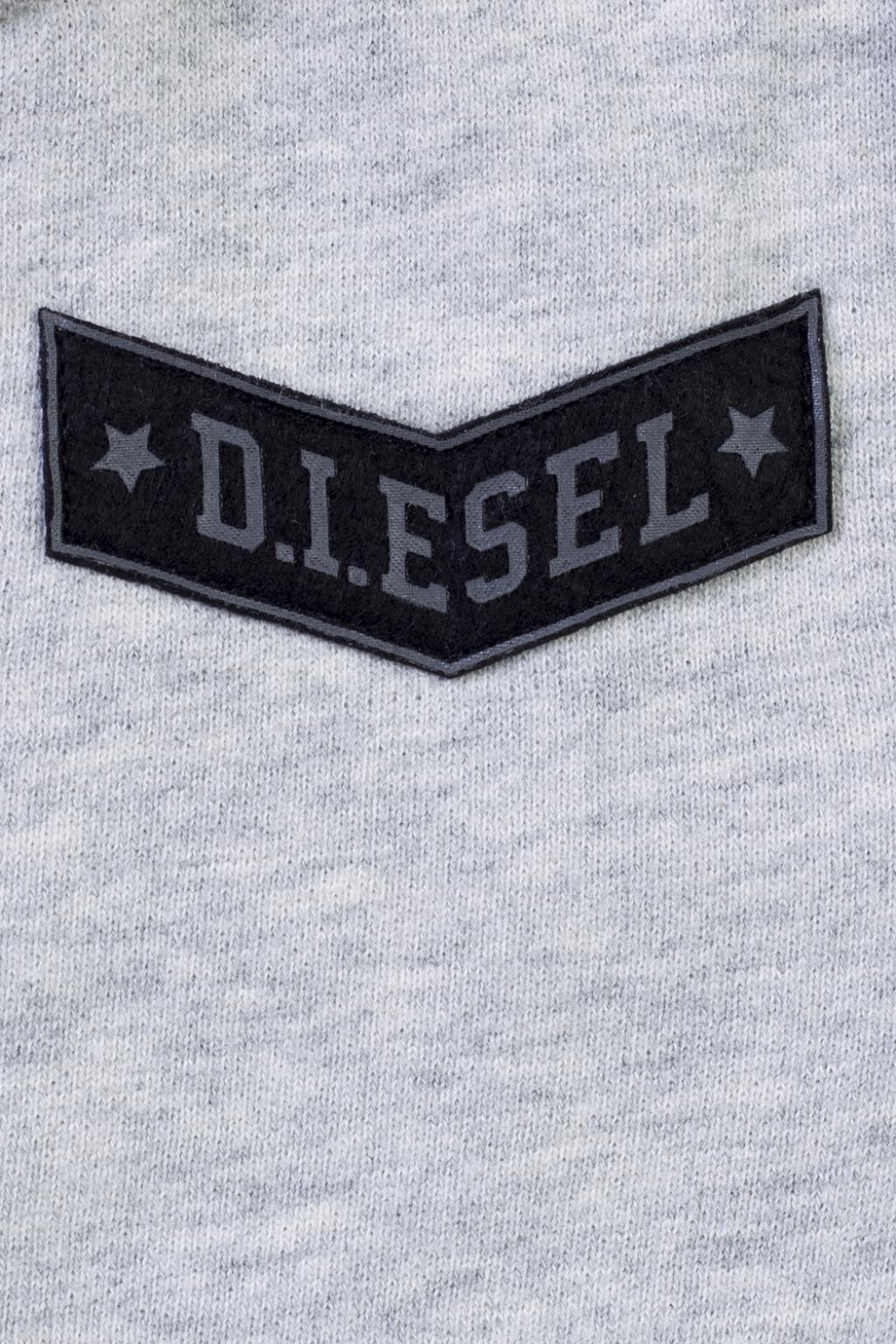 Diesel Kids Patched sweatshirt