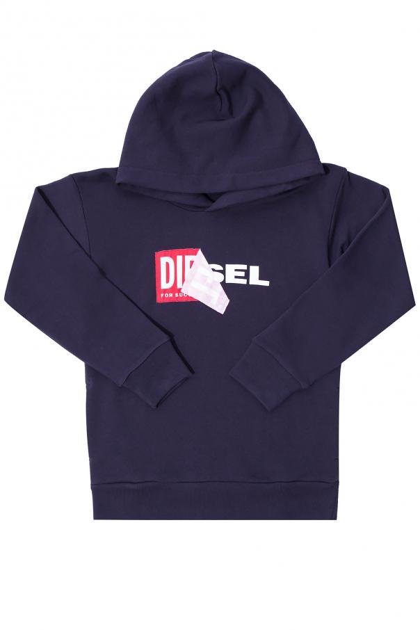 Diesel Kids Sweatshirt with logo