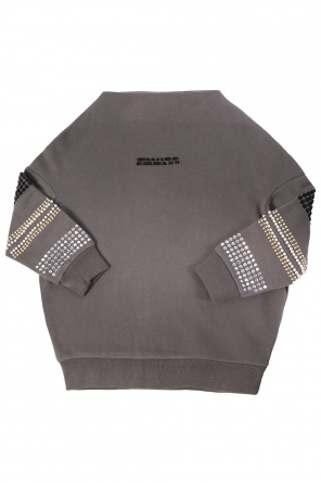 Studded sleeves sweatshirt od Diesel