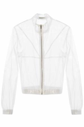 Sheer jacket with standing collar od MISBHV