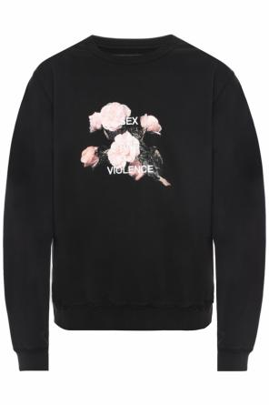 Embroidered inscription sweatshirt od MISBHV