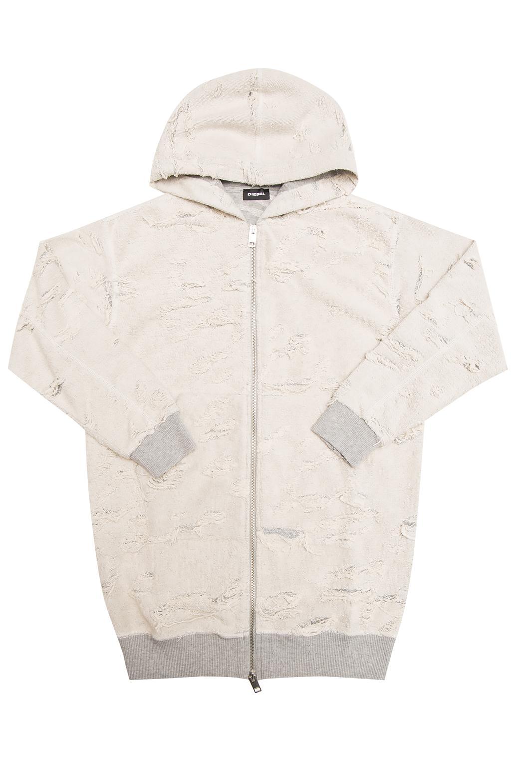 Diesel Kids Reversible hooded sweatshirt