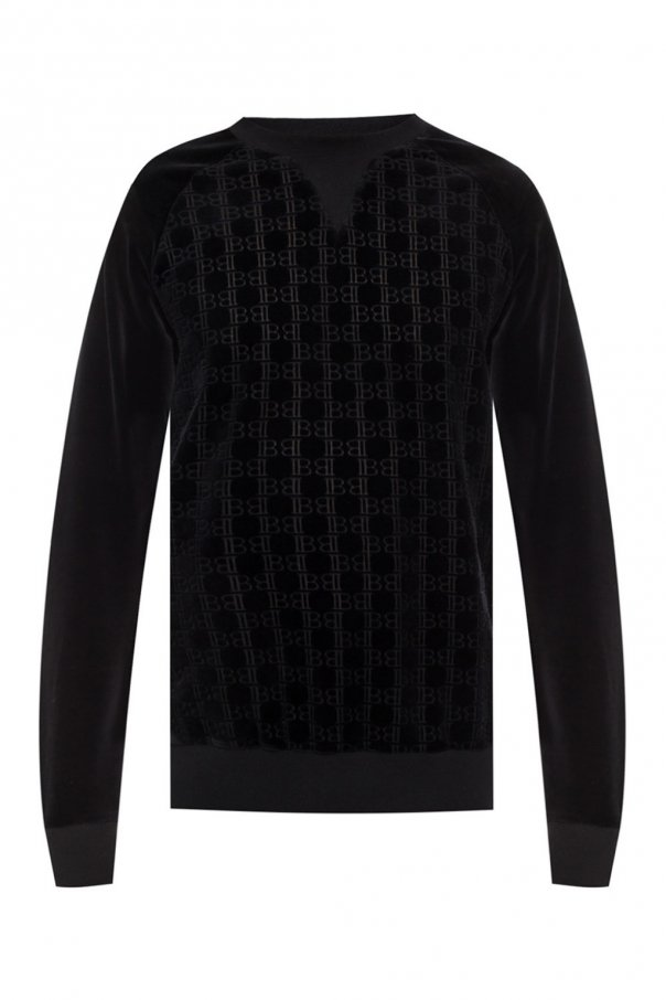Patterned sweatshirt od Balmain