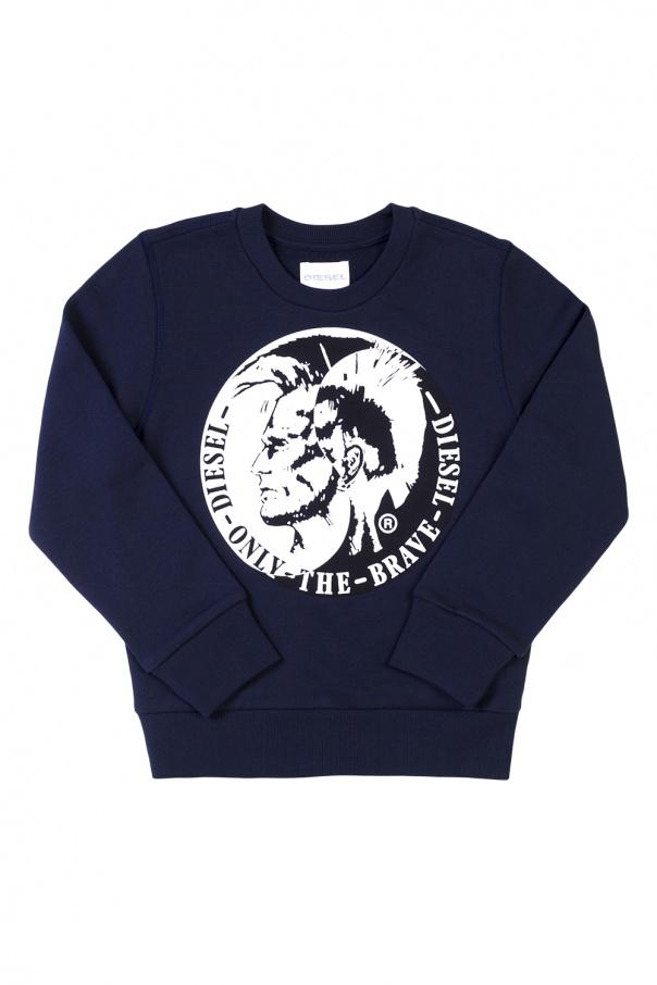 Diesel Kids Logo-printed sweatshirt