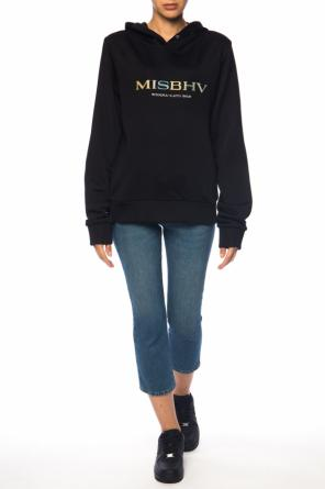 Hooded sweatshirt with logo od MISBHV