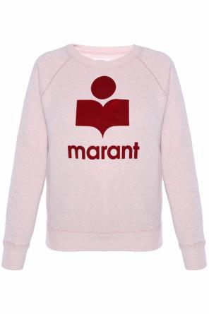 Sweatshirt with printed logo od Isabel Marant