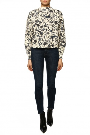 Patterned turtleneck sweatshirt od Isabel Marant Etoile