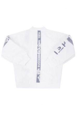 Sweatshirt with sheer insert od Diesel