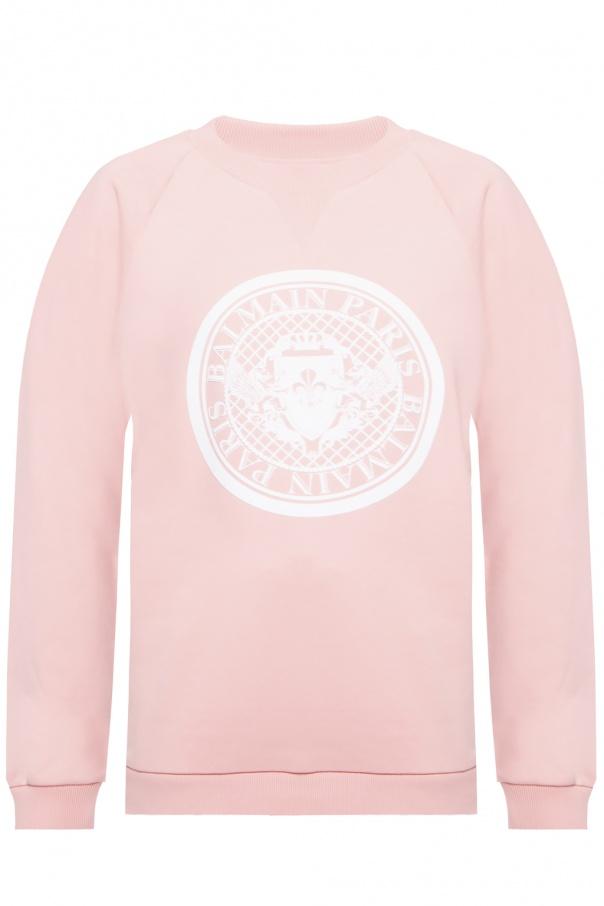 Balmain Bluza z nadrukowanym logo