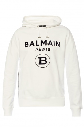 Logo-printed hoodie od Balmain