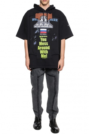 Short sleeve sweatshirt od Vetements