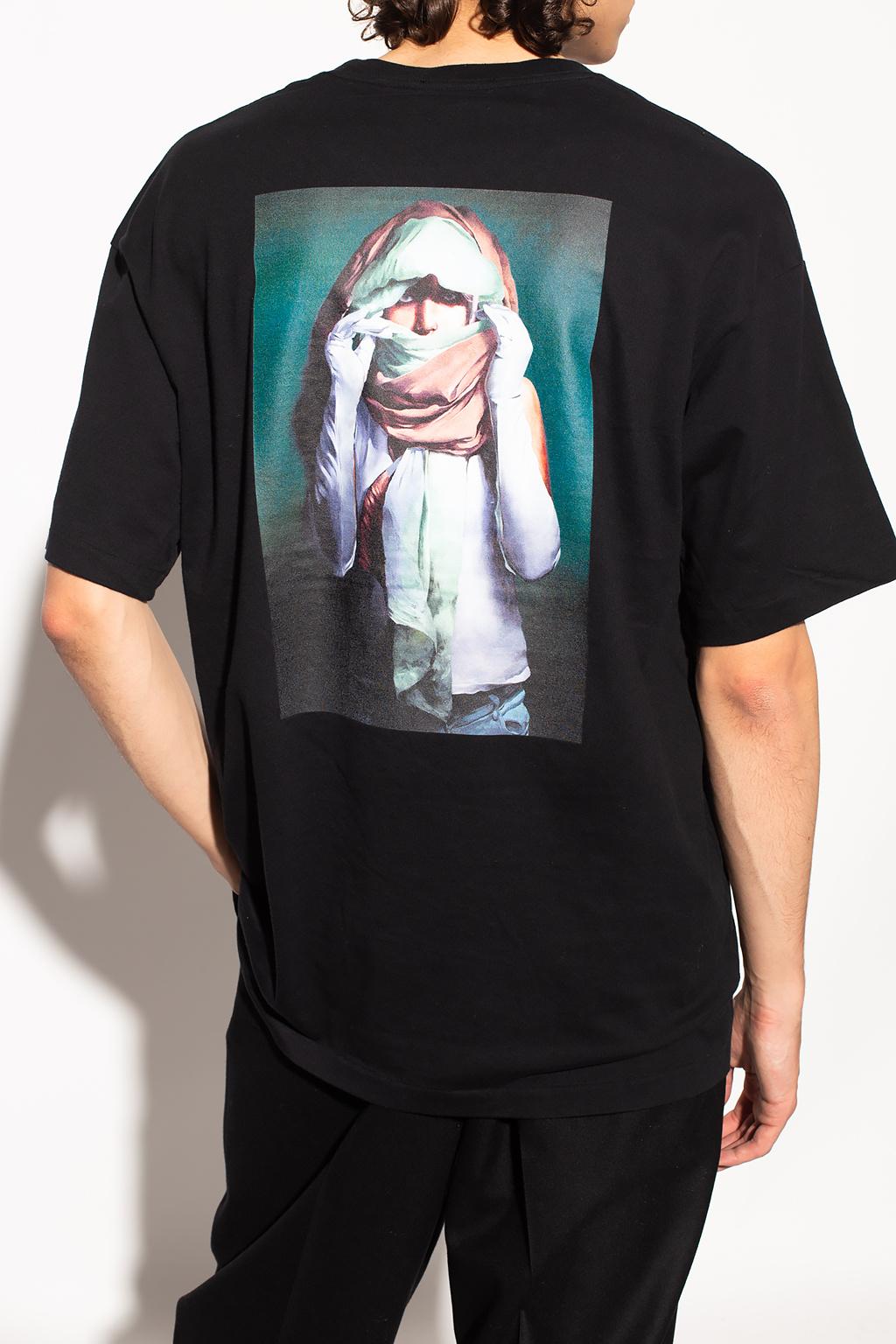Undercover 图案饰T恤