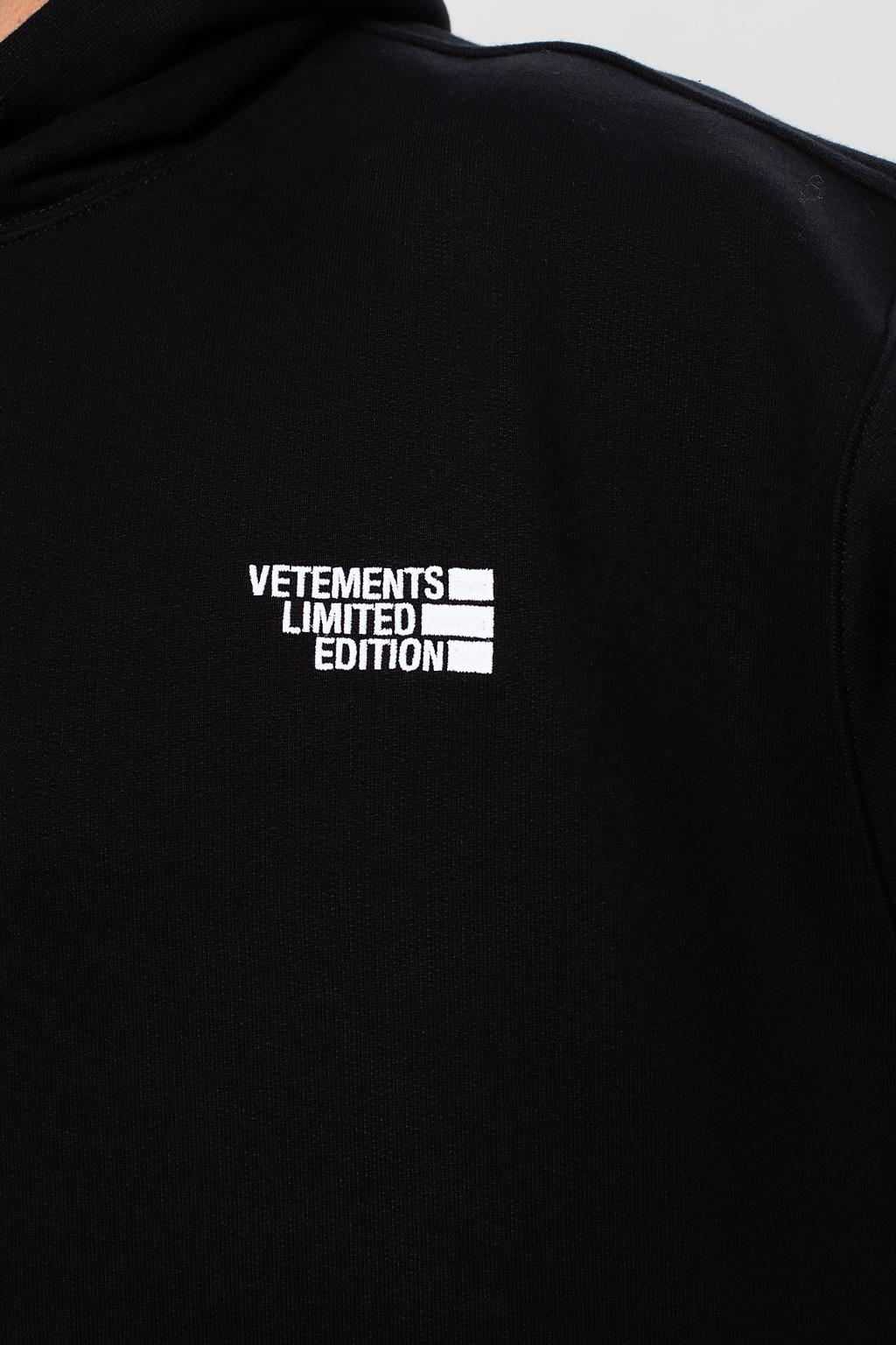 Vetements Hoodie with logo