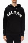 Balmain Logo-embroidered hoodie