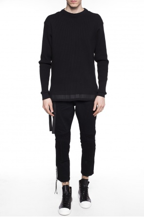 Printed ribbed sweater od Unravel Project