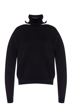 Cut-out turtleneck sweater od Unravel Project
