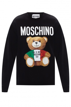 Sweatshirt with logo od Moschino