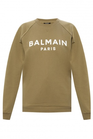 Sweatshirt with logo od Balmain