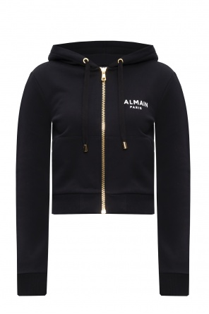 Zip-up hoodie od Balmain