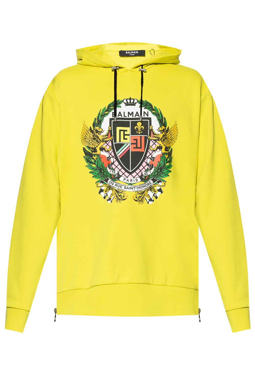 Balmain Logo-printed hoodie