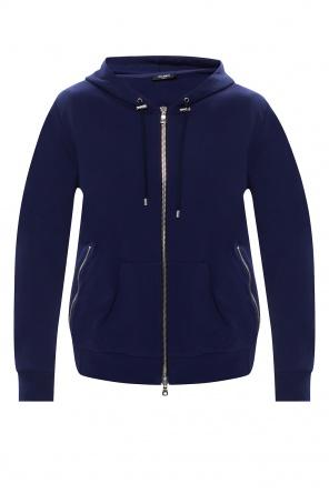 Branded hoodie od Balmain