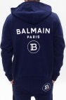 Balmain Bluza z kapturem z logo