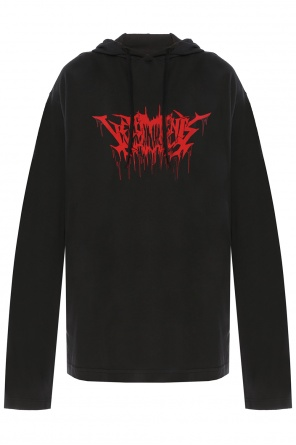 Inscriptions-printed sweatshirt od Vetements