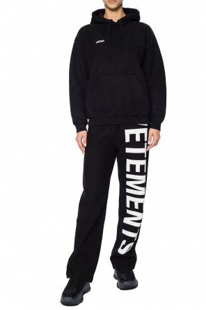 Logo-appliquéd sweatshirt od Vetements