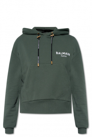 Logo hoodie od Balmain