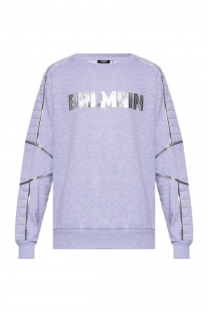 Sweatshirt with logo od Balmain
