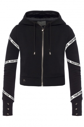 Cropped hooded sweatshirt od Philipp Plein