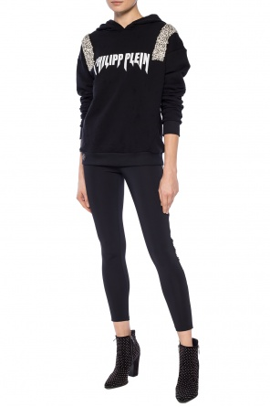 Raw-trimmed sweatshirt od Philipp Plein